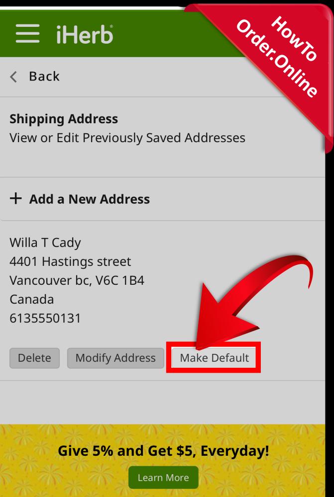 13-make your address default_Mobile Screenshot_CA