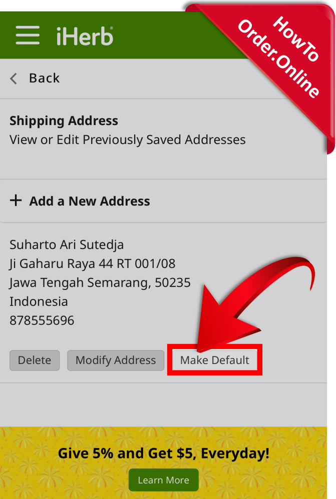 13-make your address default_Mobile Screenshot_ID