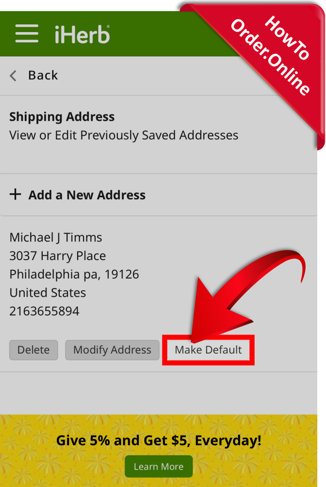 13-make your address default_Mobile Screenshot_US